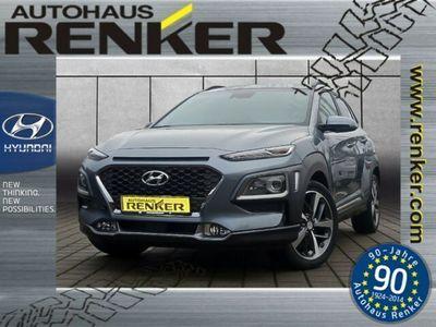 gebraucht Hyundai Kona Premium Turbo*DCT**4WD*Navi*Sitzpaket*