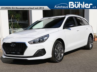 gebraucht Hyundai i30 Kombi 2019 Premium EURO 6d-Temp 1.4 T-GDI DCT Automatik Panorama Glasschiebedach Vollausstattung