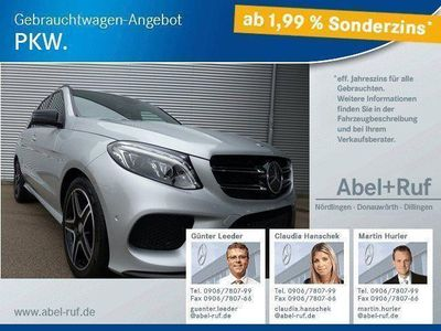 gebraucht Mercedes GLE350 d 4M.-ILS-AHK-Airmatic-Distronic-Schiebe