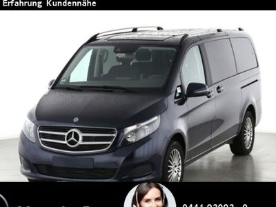 gebraucht Mercedes V220 d Edition Lang Allrad*AHK*DAB*7-Sitzer