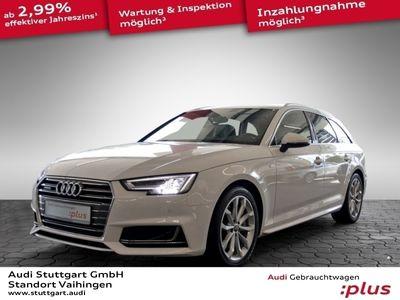 gebraucht Audi A4 Avant 3.0TDI quattro S line Navi ACC LED Pano