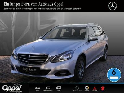 gebraucht Mercedes E220 BlueTEC T-Modell RFK+SH+Klima+Scheibedach