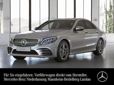 gebraucht Mercedes C200 AMG Line LED Kamera PTS 9G Sitzh Sitzkomfort