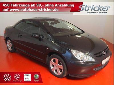 gebraucht Peugeot 307 CC 2.0 TÜV bis 03/2021 Leder Sitzheizung