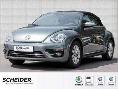 gebraucht VW Beetle Cabriolet 2.0 TDI Design Navi Klima LM16 PDC GRA