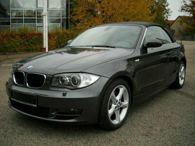gebraucht BMW 120 Cabriolet Baureihe 1 120d *Aut*Xenon*Leder*Navi*Top