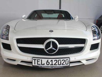 gebraucht Mercedes SLS AMG Coupe AMG SPEEDSHIFT DCT 1.HAND KD NEU TOPP