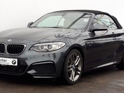 gebraucht BMW 218 i A Cabrio M Sport,Nav,Xenon,PDC,LRHZ,SHZ,uvm