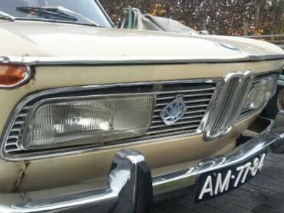 käytetty BMW 2000 Neue klasse baujahr 1969 restaurierungsobjekt