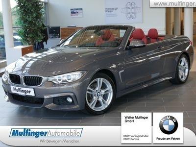 gebraucht BMW 420 i Cabrio M Sport HiFi LED Nackenwärmer