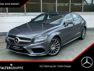 "gebraucht Mercedes CLS220 d Coupé 9.G-T+2xAMG+NAVI+LEDER+19""+LED+!"