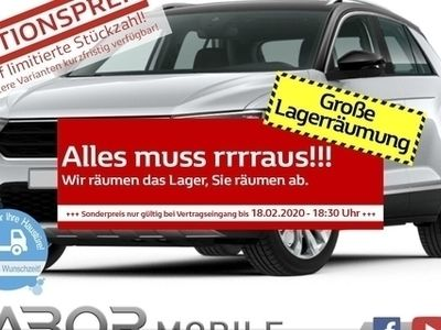 gebraucht VW T-Roc 2.0 TSI 190 DSG 4M Sport BiCol LED Nav AID