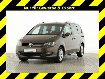 gebraucht VW Sharan Highline Xenon Navi Leder Pano Standhz LM