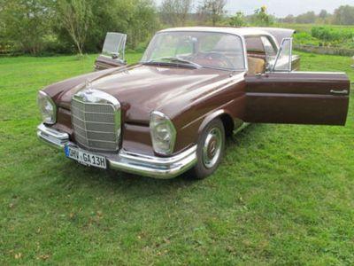 gebraucht Mercedes W111 Coupé,220 SE,kein Rost,TÜV bei Verkauf NEU