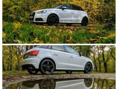 gebraucht Audi S1 Sportback Leder Sound Alu Klima Navi Black Line Quattro