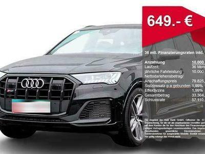 gebraucht Audi SQ7 TDI Q FACELIFT 2xASSIST PANO ALLRDLKNG LM21