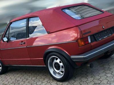 gebraucht VW Golf Cabriolet 1.4 Baujahr 1980