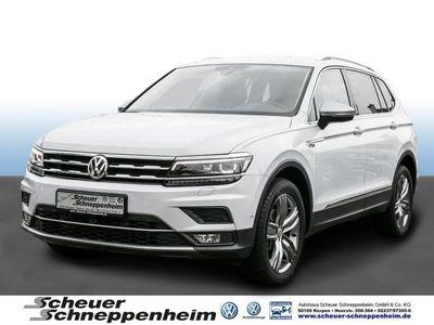 gebraucht VW Tiguan Allspace Highline 2.0 TDI, 4Motion