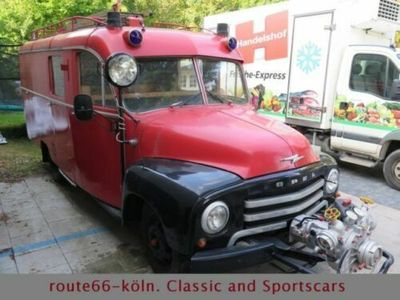 gebraucht Opel Blitz Feuerwehr Originalzustand Deutsch