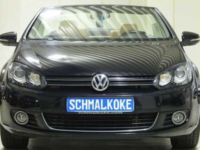 gebraucht VW Golf Cabriolet Golf Cabriolet VI TDI2.0 BMT Leder Xenon Navi Stan