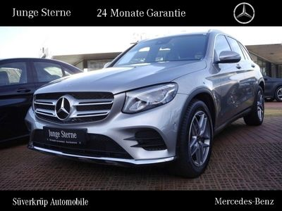 gebraucht Mercedes GLC220 d 4M AMG Line LED/Navi/PDC