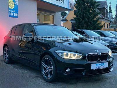 gebraucht BMW 118 d Aut. M Sport LL Line Navi LED HiFi 1. Hand als Limousine in Augsburg