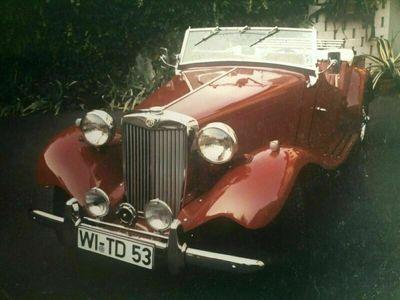 gebraucht MG TD mit Kompressor und Ersatzmotor als Cabrio/Roadster in Rettert