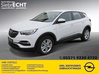 gebraucht Opel Grandland X 1.2 T Edition*IntelliLink*PDCh*SHZ*2-Zonen-Klima