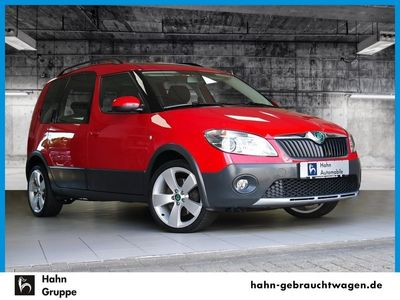 gebraucht Skoda Roomster Scout 1.6 TDI Plus Edition