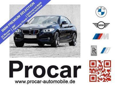 gebraucht BMW 230 i Coupe Sport Line Innovationsp. Navi Prof.
