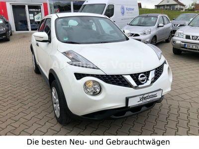 used Nissan Juke 1.6 Visia*CD/Radio*AUX*TÜV*S-Heft*55tkm*EU6