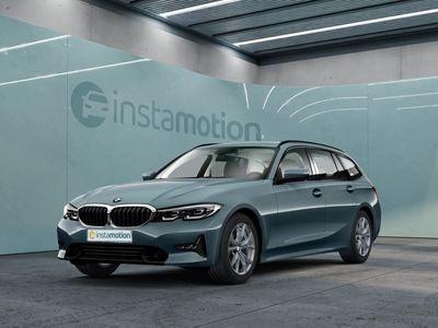 gebraucht BMW 320 320 i Sport Line Touring EU6d Klima Navi LED Keyless HUD Parklenkass.