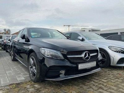 gebraucht Mercedes C300 de AMG-Line Panorama Widescreen Sound