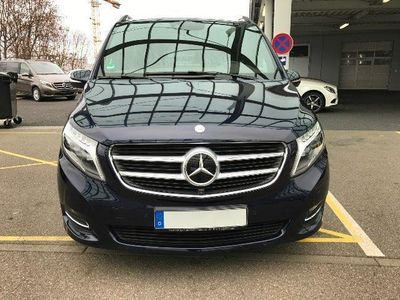 gebraucht Mercedes V250 BlueTEC lang 7G-TRONIC Edition 1