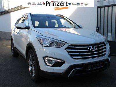 gebraucht Hyundai Grand Santa Fe Grand 2.2 CRDI 4WD blue A/T 'Premium' AHK Vollauss