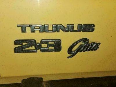 gebraucht Ford Taunus 2.3 Ghia V6 XR RS mk 2/ 3 als Cabrio/Roadster in Kröv