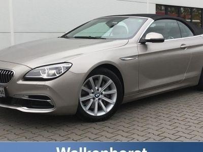 gebraucht BMW 640 Cabriolet d Head Up Sitzheizung Navigation