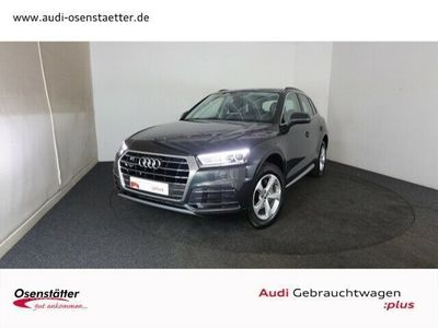 gebraucht Audi Q5 2,0 TDI design qu/Xenon/Navi/Sitzhzg./Assist