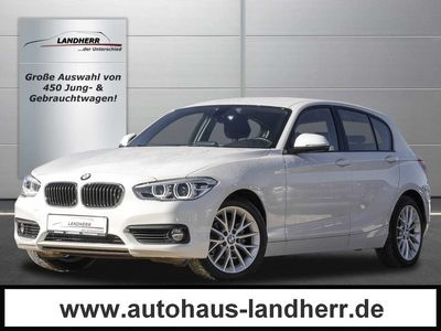 gebraucht BMW 118 d Automatik // LED/Navi/PDC/ SHZ