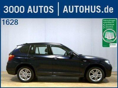 gebraucht BMW X3 xDrive20d M-Sport Leder Navi Xen H/K StHz AHK