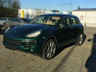 gebraucht Porsche Cayenne Diesel*SERVICE NEU*PANORAMA*BEIGE LEDER* als SUV/Geländewagen/Pickup in Ludwigsburg