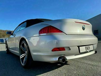 gebraucht BMW 630 Cabriolet i GAS Leder Navi Xenon M6 Felgen als Cabrio/Roadster in Siegen
