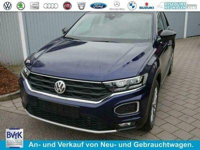 gebraucht VW T-Roc 2.0 TDI DPF DSG UNITED * ACC AHK LED NAVI KAMERA PDC SHZG 18 ZOLL