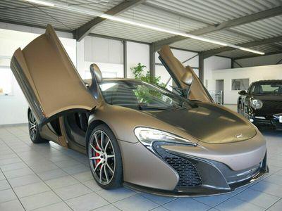gebraucht McLaren 650S Spider /LED/CARBON/ALCANTARA/LIFTING/KERAMIK