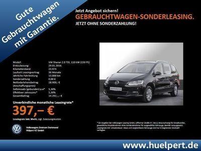 gebraucht VW Sharan 2.0 TDI BMT AHK NAVI BLUETOOTH GRA (Einparkhilfe)