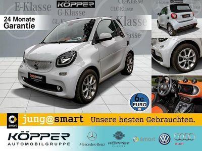 gebraucht Smart ForTwo Cabrio 66 kW turbo twinamic LED Sitzhzg.