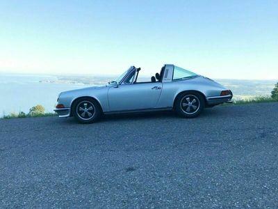 gebraucht Porsche 911 2,4 S Targa, Originalzustand, 4. Hd matching als Cabrio/Roadster in Waldburg