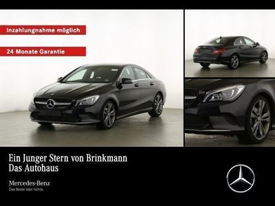gebraucht Mercedes CLA180 Coupé URBAN/LED/NAVI/SHZ Navi/Parktronic/Telefon