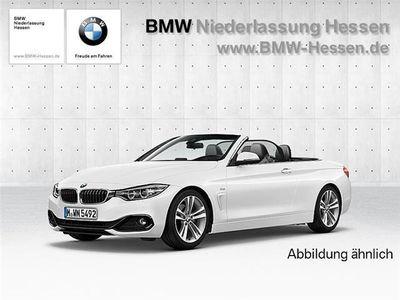 gebraucht BMW 420 d Cabrio Sport Line Navi Speed Limit Info