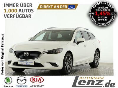 gebraucht Mazda 6 Kombi Kizoku Intense LED Navi GSD Leder